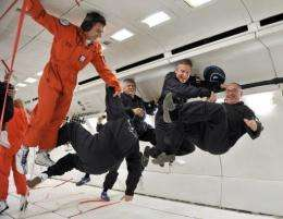 A French company wants to offer zero-gravity flights at 4,000 euros ($4,700) a time