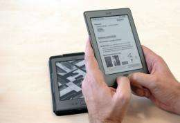 Amazon says sales of its Kindle e-readers and tablets quadrupled on Black Friday over the previous year's figure