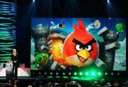 Angry Birds game currently has 120 million active users on mobile devices