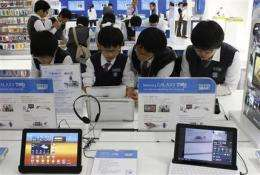 AP Interview: Samsung to step up Apple patent war (AP)