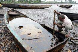 A recent UN report found that contamination was widespread in the Nigerian Delta after 50 years of oil extraction