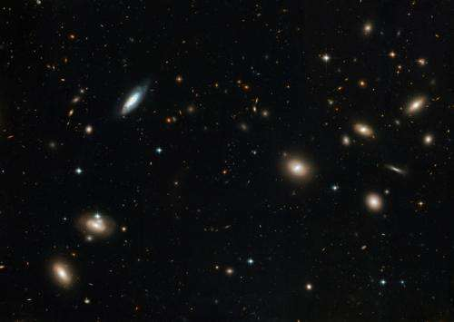 Astronomers reveal a cosmic 'axis of evil'