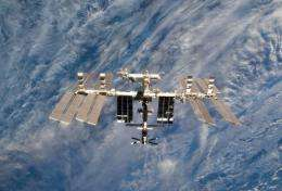 A view of the International Space Station