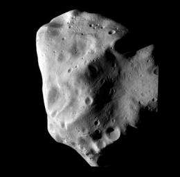 Battered asteroid may have warm core
