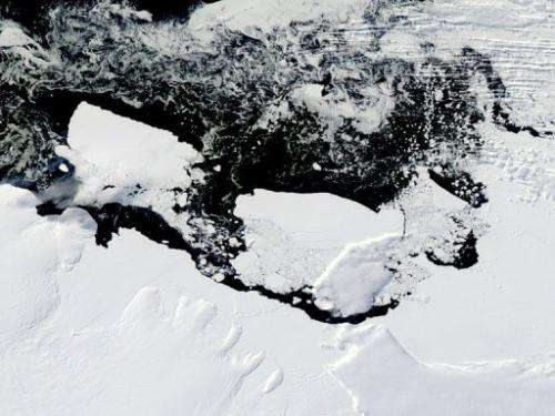 Calved from the Ross Ice Shelf in 1987, B9B made headlines last year when it smashed into the Mertz Glacier