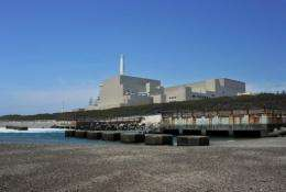 Chubu Electric Power's Hamaoka nuclear power plant