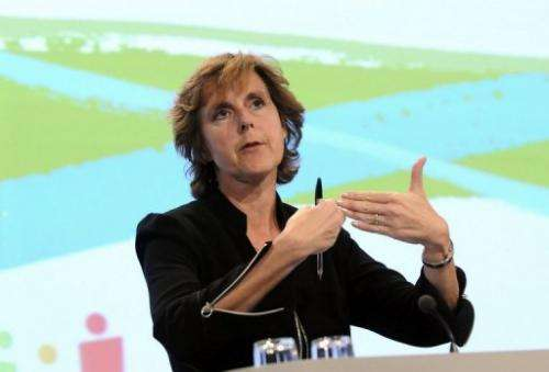 Connie Hedegaard said she had received 'very positive signals' about the EU's roadmap plan