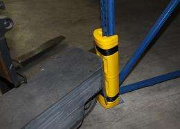 Crash sensor boosts safety in warehouses