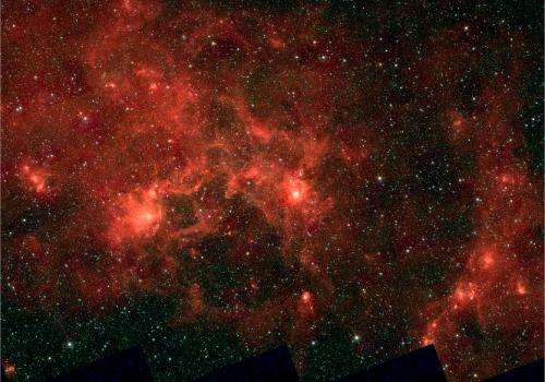 In the Dragonfish's mouth: Next generation of superstars to stir up our galaxy