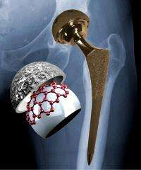 Lubricant in metal-on-metal hip implants found to be graphite, not proteins