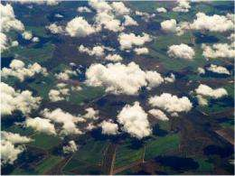 Effect of cloud-scattered sunlight on earth's energy balance depends on wavelength of light
