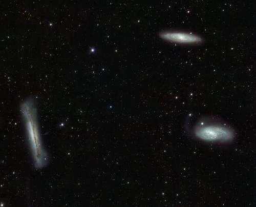 VST looks at the Leo Triplet -- and beyond