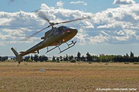 Eurocopter demonstrates new emergency backup electric motor for helicopters