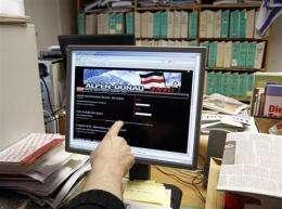 European neo-Nazi websites find home in US (AP)