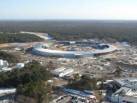 Brookhaven lab's new light source halfway there
