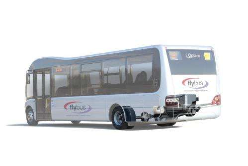 'Flybus' prototype may be hybrid bus of future