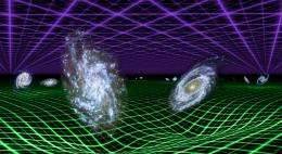 Galaxy Evolution Explorer finds dark energy repulsive