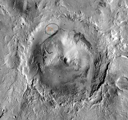 Gale Crater Reported Front-Runner for MSL Landing Site