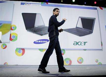 Google-powered laptops to go on sale June 15 (AP)