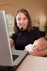Has technology made life easier for working moms?