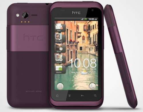 HTC unveils new smartphone, the Rhyme