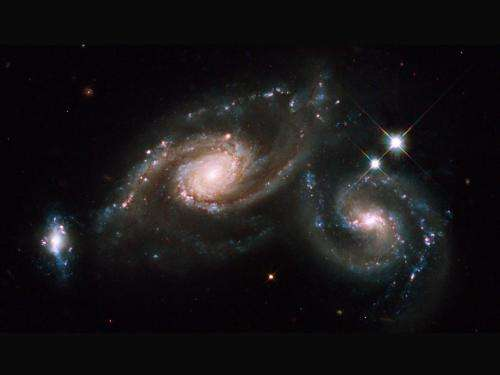 Hubble captures image of the Arp 274 group of galaxies