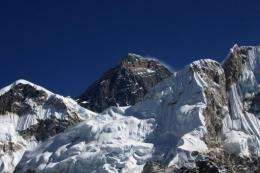 Human waste from climbers is a problem on the slopes of Everest, environmentalists say