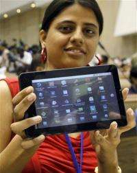 India announces $35 tablet computer for rural poor (AP)