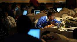 India has more than 110 million Internet users out of a population of 1.2 billion