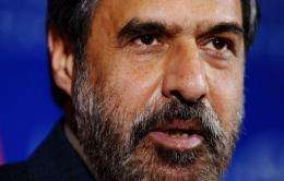 India's Minister of Commerce and Industry Anand Sharma