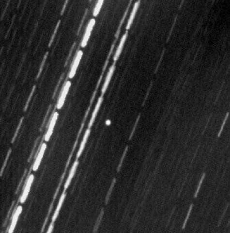 Is winking near-Earth asteroid GP59 really the missing apollo 13 panel?