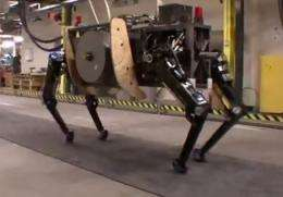 Boston Dynamics unwraps military robot AlphaDog (w/ video)