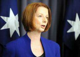 Julia Gillard is planning a two-week