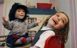 Kaspar the friendly robot helps autistic kids (AP)