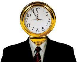 Keeping to time counter-intuitively