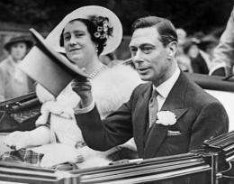 King George VI overcame the stutter which affected his radio broadcasts