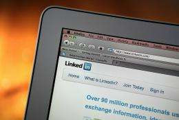 LinkedIn said it has hit 100 million members, more than half of whom live outside the US