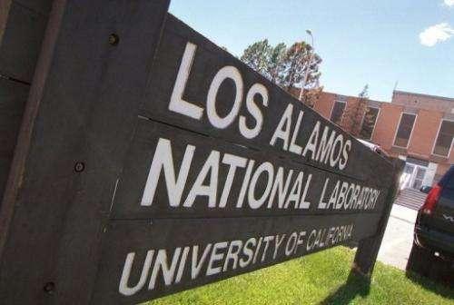 Los Alamos National Laboratory campus in Los Alamos, New Mexico