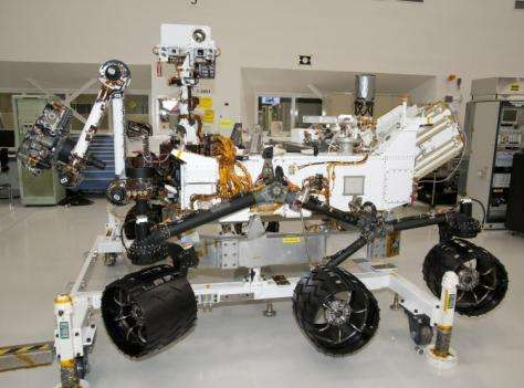 Mars Rover nears completion