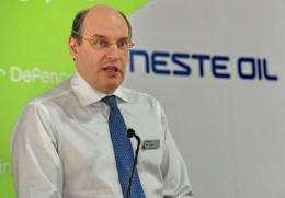 Matti Lievonen, president and CEO of Neste Oil Corporation