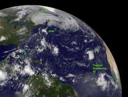NASA eyes two more Atlantic tropical cyclones while Irene drenches Canada