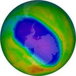 NASA, NOAA data show significant Antarctic ozone hole remains