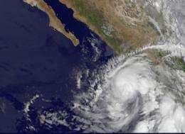 NASA sees Hurricane Beatriz 'wink' on the Mexican coast