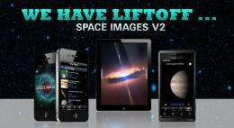 NASA space images app, website broaden cosmic horizons