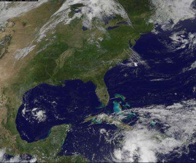 NASA watching 2 areas in the Caribbean, 1 is a rainmaker