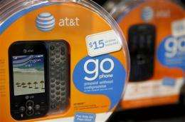 New AT&T phone contracts dive in 1Q