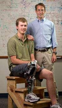 New 'bionic' leg gives amputees a natural gait