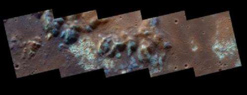 New features discovered on Mercury could be evidence of hydrogen geysers and metallic iron
