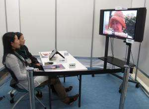 NHK shows off a TV that watches you