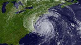 No hurricane has struck the US mainland since 2008